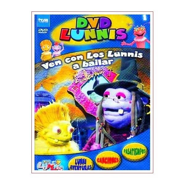 LOS LUNNIS VEN CON LOS LUNNIS A BAILAR DVD 2003