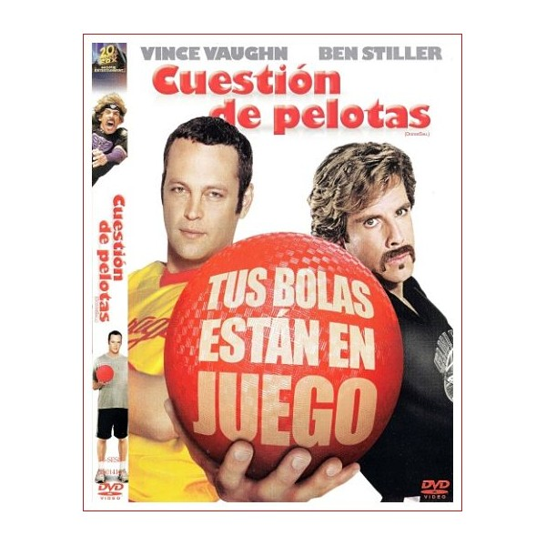 CUESTION DE PELOTAS 2004 DVD Comedia Dirección Rawson Marshall Thurber