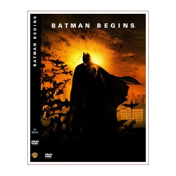 BATMAN BEGINS DVD de COMIC 2005 Dirección Christopher Nolan