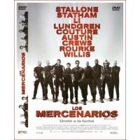 LOS MERCENARIOS Dvd 2010 Acción Dirección Sylvester Stallone