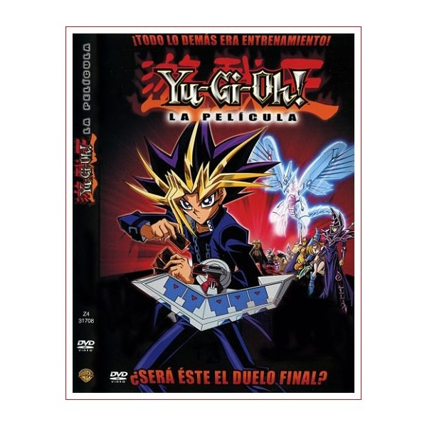 YU-GI-OH! LA PELICULA DVD 2004 Manga Dirección Hatsuki Tsuji