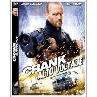 CRANK ALTO VOLTAJE Dvd 2009 Dirección Mark Neveldine, Brian Taylor