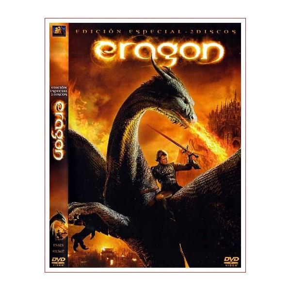 ERAGON E.E. DOS DISCOS DVD 2006 Ficción Dirección Stefen Fangmeier