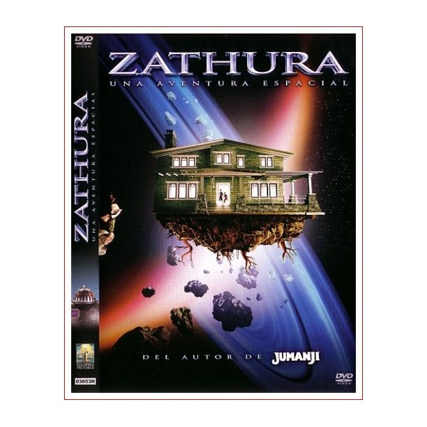 ZATHURA UNA AVENTURA ESPACIAL DVD 2005 Ficción Dirección Jon Favreau