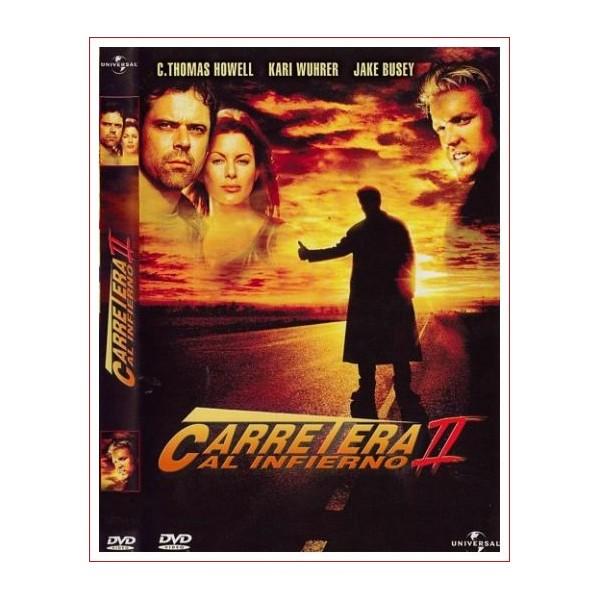 CARRETERA AL INFIERNO 2 Dvd Suspense 2003 Dirección Louis Morneau