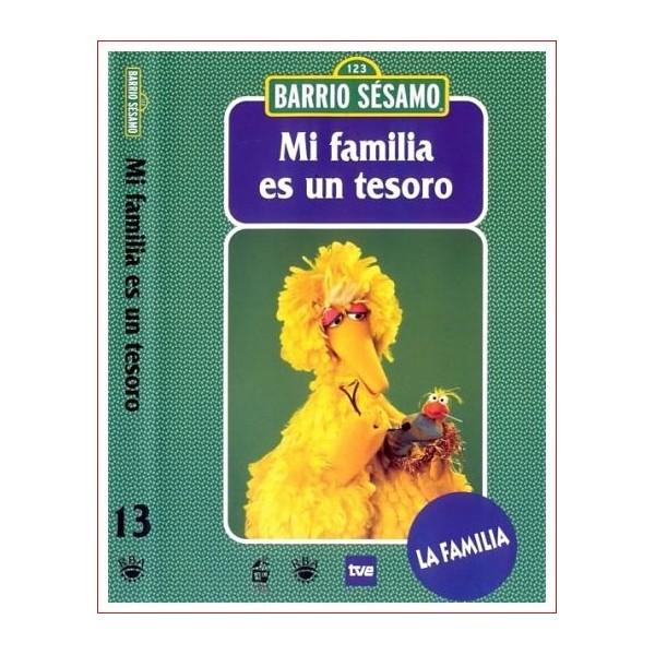 MI FAMILIA ES UN TESORO BARRIO SESAMO 13