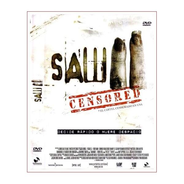 SAW II dvd Suspense 2005 Dirección Darren Lynn Bousman