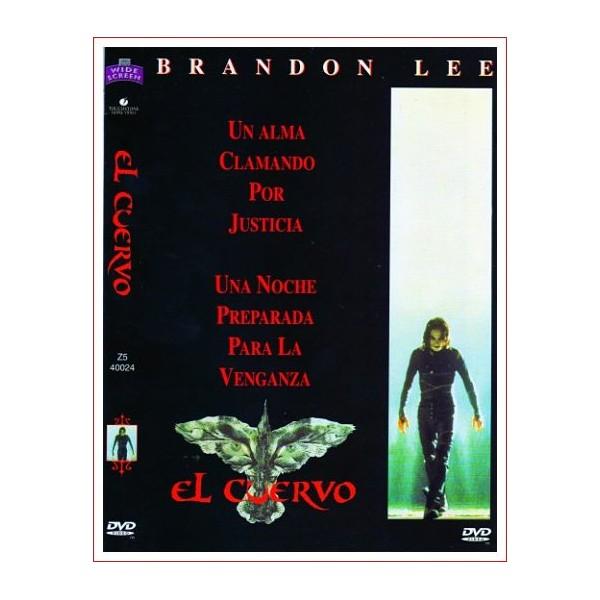 EL CUERVO SUSPENSE DVD 1994 Dirigida por Alex Proyas