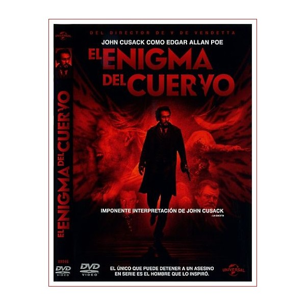EL ENIGMA DEL CUERVO dvd suspense 2012 Dirección James McTeigue