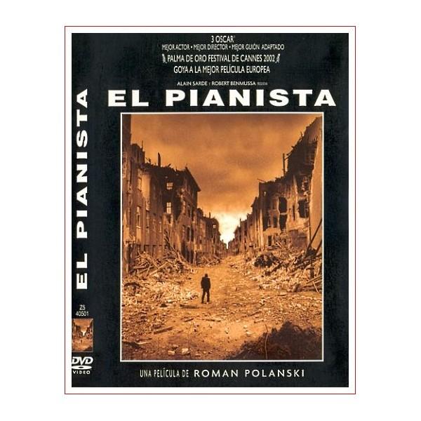 EL PIANISTA Dvd 2002 Dirección Roman Polanski