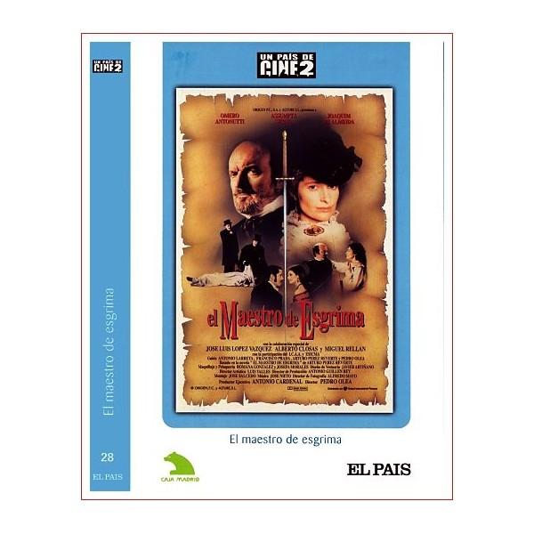 EL MAESTRO DE ESGRIMA Dvd 1992 Director Pedro Olea