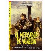 EL MERCADER DE VENECIA dvd 1980 Dirección Jack Gold