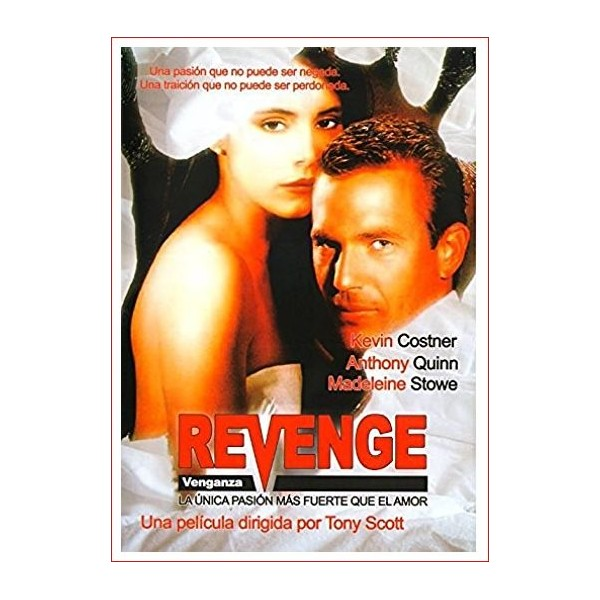 Revenge (Venganza) Dvd 1990 Director Tony Scott