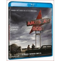 AMERICAN GODS SERIE TV TEMPORADA UNO 4 DISCOS BLU RAY 2017