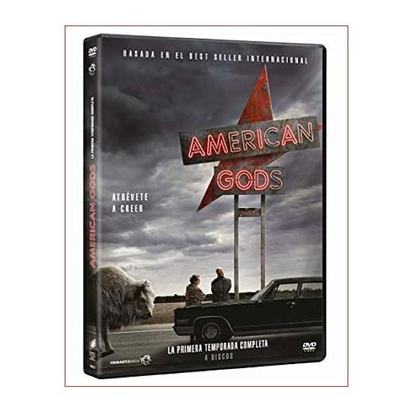 AMERICAN GODS SERIE TV TEMPORADA UNO 4 DISCOS