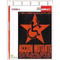 ACCIÓN MUTANTE Estuche Slim Dvd 1993 Director Álex de la Iglesia