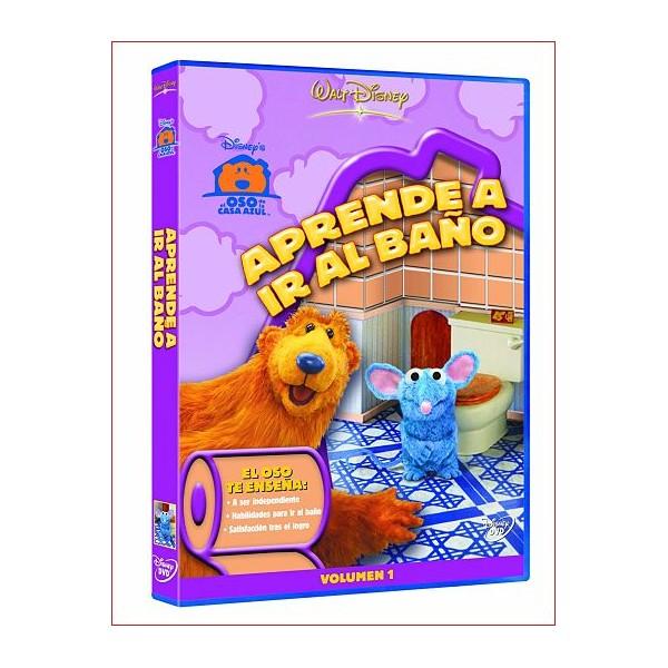 APRENDE A IR AL BAÑO dvd 2009 Infantil Estudio Buena Vista HE
