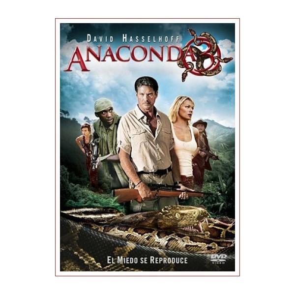 ANACONDA 3: La amenaza DVD 2008 Suspense Dirección Don E. FauntLeRoy