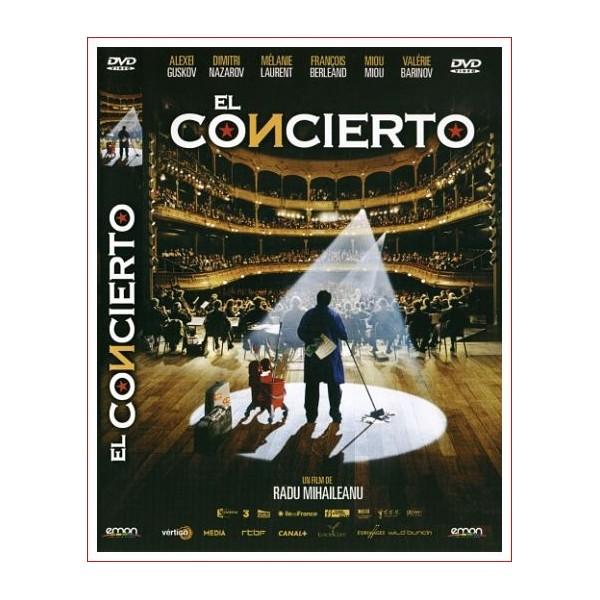 EL CONCIERTO Comedia en Dvd 2009 Dirección Radu Mihaileanu