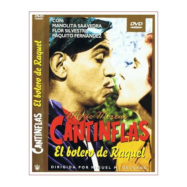 EL BOLERO DE RAQUEL Dvd Comedia 1957 Director Miguel M. Delgado