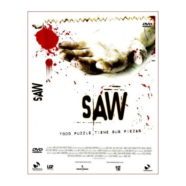 SAW I DVD 2004 de Suspense Dirección James Wan