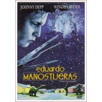 EDUARDO MANOS TIJERAS Dvd 1990 Director Tim Burton