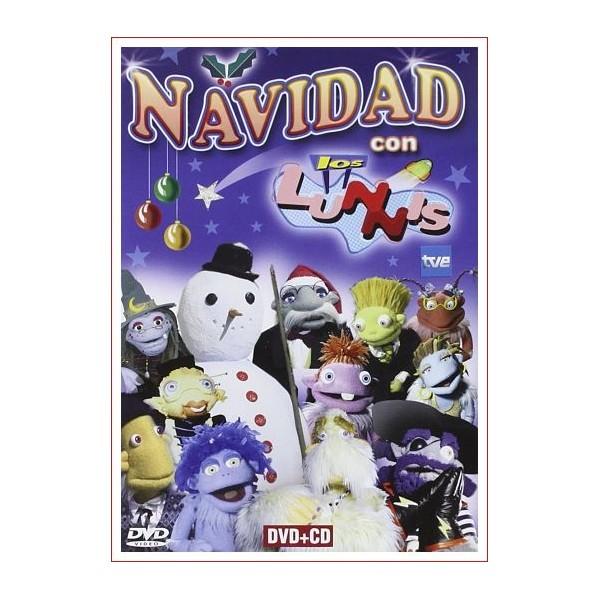 NAVIDAD CON LOS LUNNIS DVD 2004 Solo el dvd de la película
