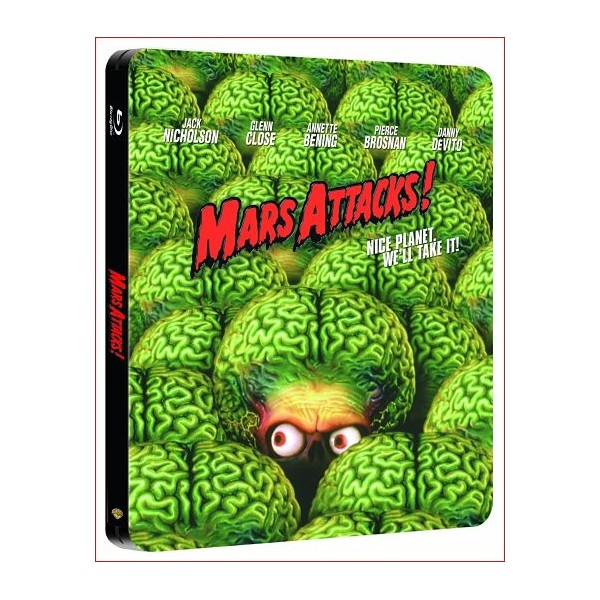 Mars Attacks blu ray 1996 Director Tim Burton