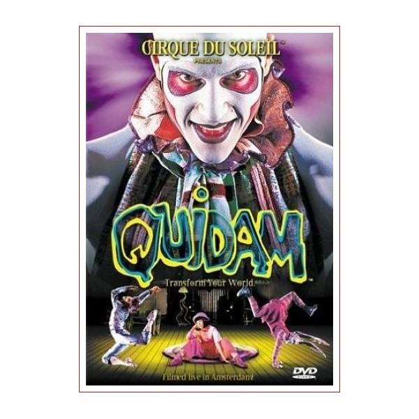 QUIDAM CIRCO DEL SOL DVD Documental