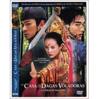 LA CASA DE LAS DAGAS VOLADORAS dvd 2004 Guion Zhang Yimou