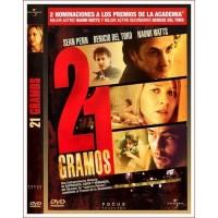 21 GRAMOS Dvd 2003 Dirección Alejandro González Iñárritu