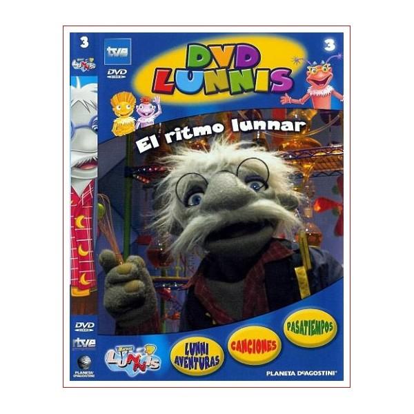 LOS LUNNIS EL RITMO LUNNAR Dvd Serie de Tv Dirección Daniel Cerdà