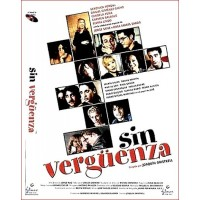 SIN VERGÜENZA DVD 2001 Comedia de Cine Español