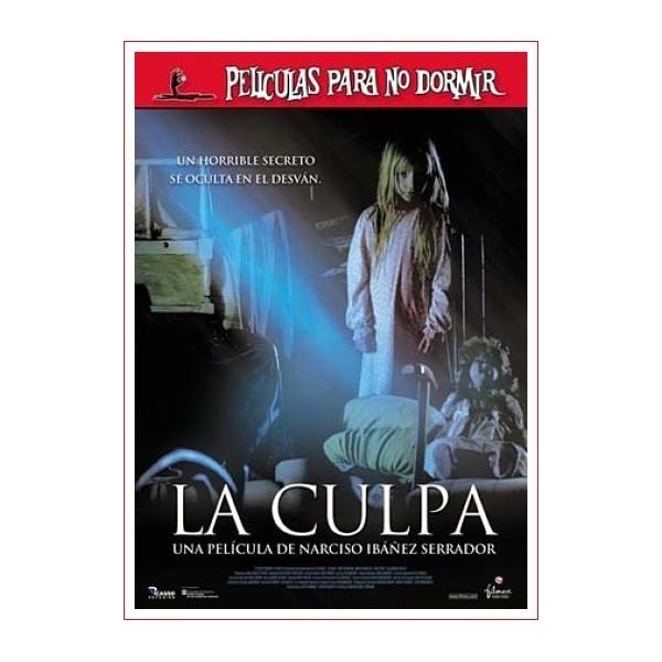 LA CULPA dvd 2006 de Cine Español Dirección Narciso Ibáñez Serrador