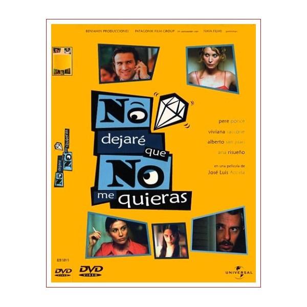 NO DEJARE QUE NO ME QUIERAS Dvd 2002 Comedia de Cine Español
