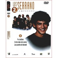 LOS SERRANO SEGUNDA TEMPORADA DISCO 12 dvd 2003 Serie Tv. Española