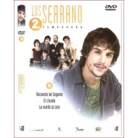 LOS SERRANO SEGUNDA TEMPORADA DISCO 14 DVD SERIE TV ESPAÑOLA