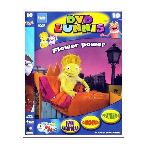 LOS LUNNIS FLOWER POWER DVD 2003