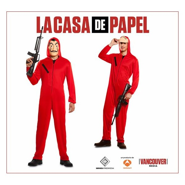 Disfraz de Ladrón La casa de Papel Serie de Tv Española 2017