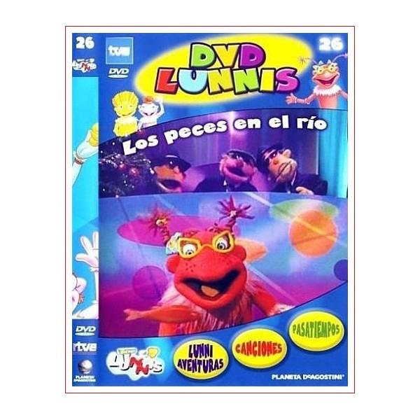 LOS LUNNIS LOS PECES EN EL RIO DVD INFANTIL 2003 Dir. Eladio Jareño