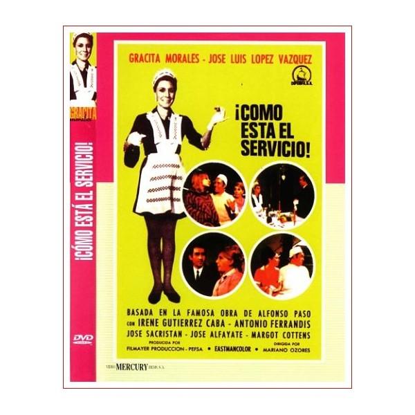 ¡COMO ESTA EL SERVICIO! DVD COMEDIA DE 1968 DE CINE ESPAÑOL