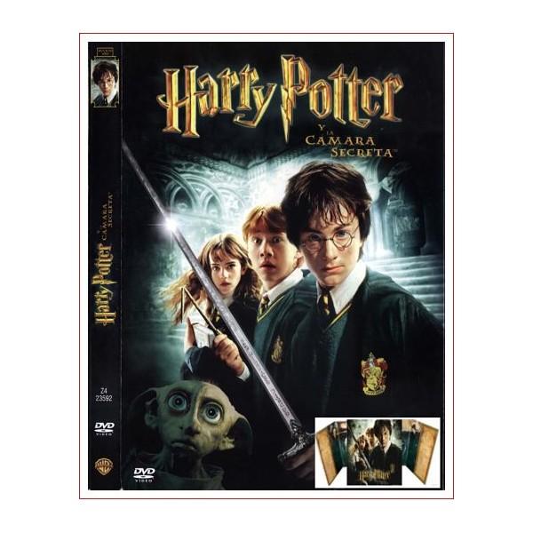 HARRY POTTER Y LA CAMARA SECRETA ED COLECCIONISTA DVD 2002 DOS DISCOS