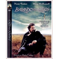 BAILANDO CON LOBOS (Dances with Wolves) DVD 1990 por Kevin Costner