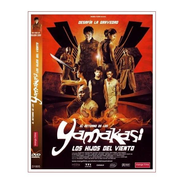 EL RETORNO DE LOS YAMAKASI LOS HIJOS DEL VIENTO DVD 2004