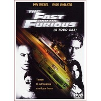 THE FAST AND THE FURIOUS (A TODO GAS I) DVD 2001 Director Rob Cohen