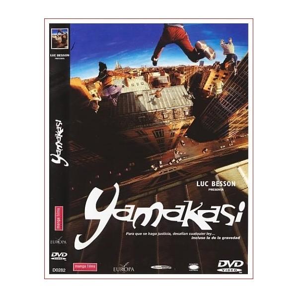 YAMAKASI DVD Acción 2001Dirección Ariel Zeitoun