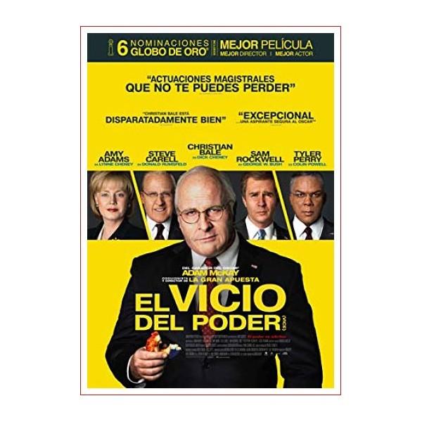 El Vicio Del Poder (Vice) 2018 Drama y Comedia Biográfica