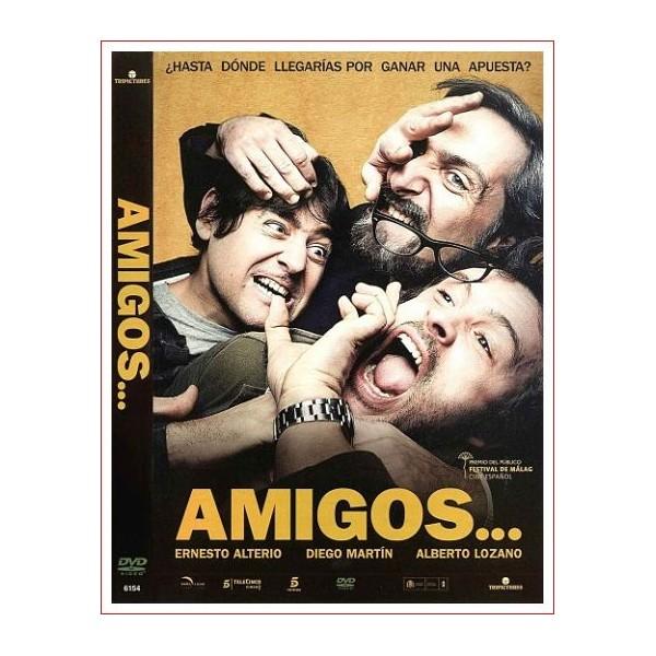 AMIGOS DVD 2011 CINE ESPAÑOL Música Sergio de la Puente