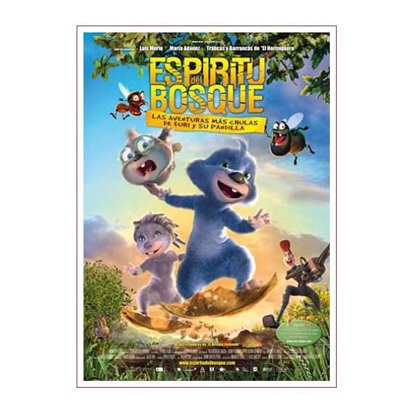 ESPIRITU DEL BOSQUE DVD El bosque animado 2 Cine de Animación Infantil