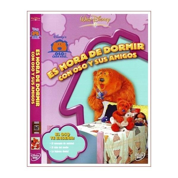 EL OSO DE LA CASA AZUL ES HORA DE DORMIR CON OSO Y SUS AMIGOS DVD 1997